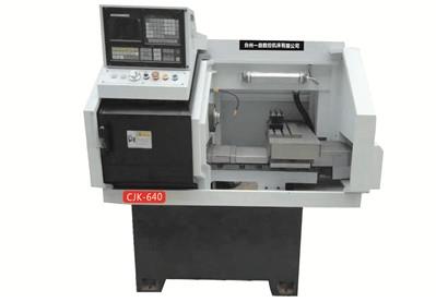 双主轴数控车床CJK-640 线轨 精密机床